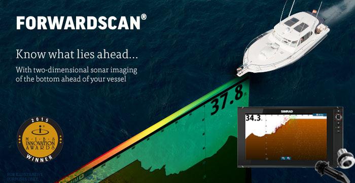 Innovation Award for Simrad ForwardScan sonar