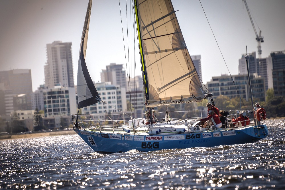 B and G sponsors Jon Sanders on Swan-Song voyage